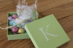 Monogram Treat Boxes