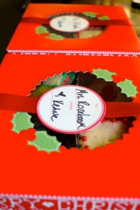 Personalized Christmas Cookies